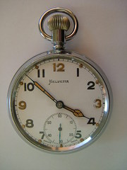Quality Helvetia Military Style Pocket Watch
