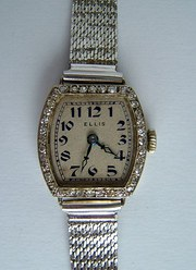 Vintage ROLEX 14CT Gold  Diamo