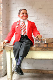 Ventriloquist's Dummy Attributed to Leonard Insull