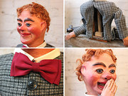 c.1910 Ventriloquist's Dummy Attributed to Quisto