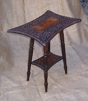Small Indian Carved Rosewood T