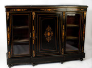 Victorian Ebonised Side Cabine