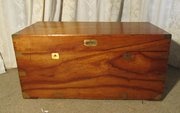 A Large Victorian Camphor Wood