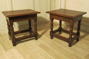 A Pair of Ipswich Oak Joint or