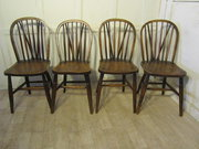 A Set of 4 Victorian Beech  El
