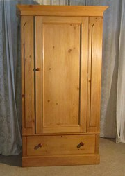 A Victorian Stripped Pine Ward