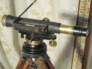 Antique Surveyors Rod  Level b