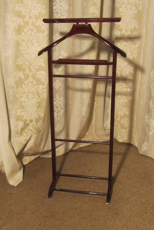 Art Deco Gentleman S Floor Standing Suit Hanger Antiques
