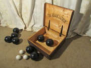Association Lawn Bowls in Original Box  F H Ayres London