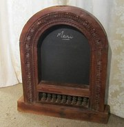Gothic Carved Window Frame Bla
