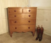 Large Victorian Pine Chest of