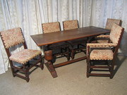 Victorian Oak Refectory Table