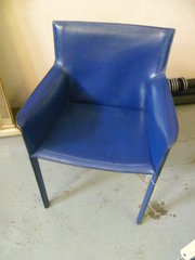 20TH CENTURY LEATHER CHAIR ENR