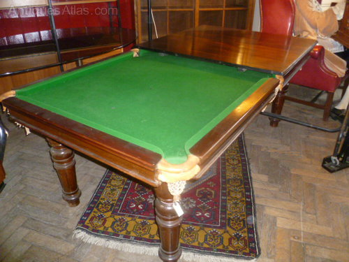 antique 1 4 size riley snooker table antiques atlas