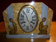 ANTIQUE ART DECO CLOCK