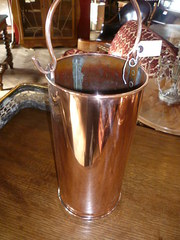 ANTIQUE COPPER CONTAINER