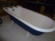antique roll top bath by boldi