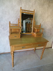 Edwardian Ash Dressing Table