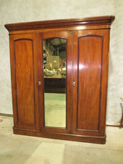 Mahogany Combination Wardrobe