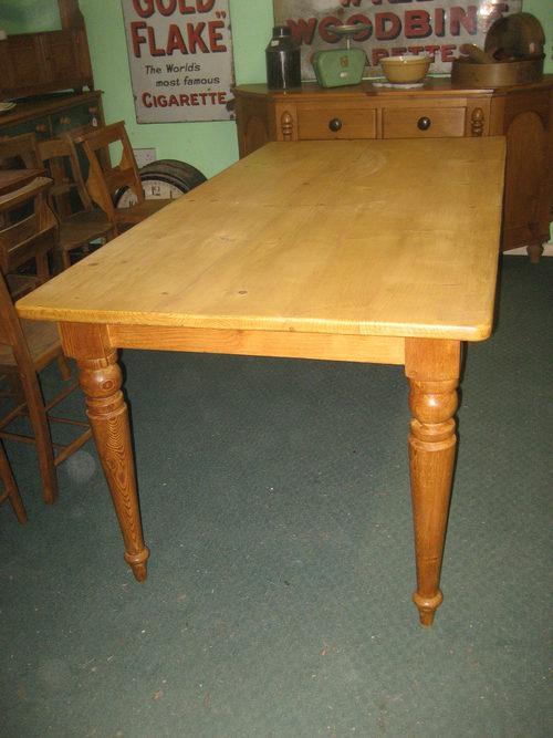 antiques atlas pine kitchen table