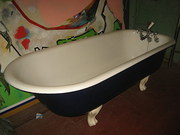 Victorian Cast Iron Bath