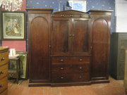 Victorian Mahogany Breakfront