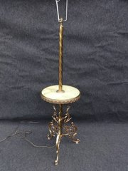 A good Brass and Onyx Table St
