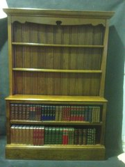 Arts and Crafts Oak BookcaseDr