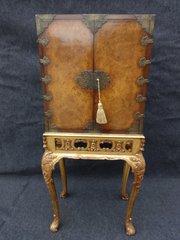 Stunning Burr Walnut Cabinet o