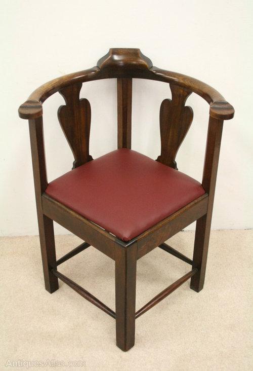 george ii style walnut corner chair antiques atlas