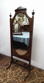 Late Victorian Marquetry Inlai