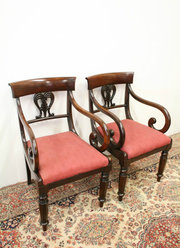 Pair of George III Mahogany Ca