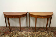 Pair of George III Mahogany De
