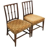 Pair of George III Mahogany Di