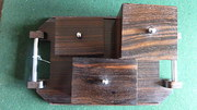 Art Deco Macasser or Rosewood