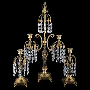 Regency Gilt Metal Candelabra