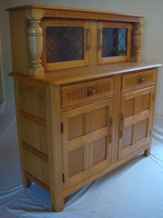 Solid Oak Buffet Dresser