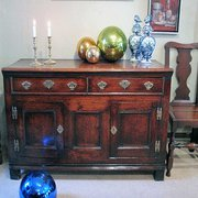 An 18th c Welsh Dresser Base