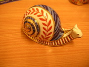 Royal Crown Derby Snail Paperw