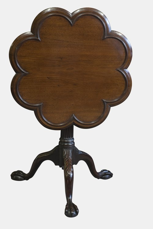 19th c. Irish Mahogany Supper Table