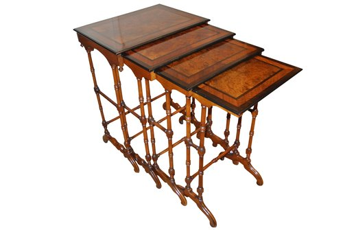 19th Century Quartetto Nest Of Tables