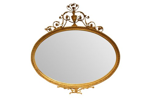 19th c Adam Style Mirror