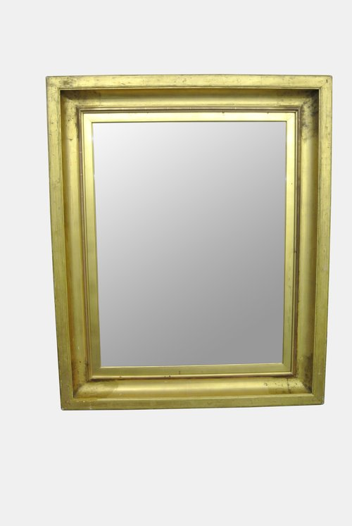 19th c. Gilt Framed Mirror