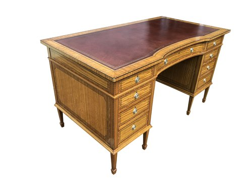 Antique Gillows Satinwood Desk