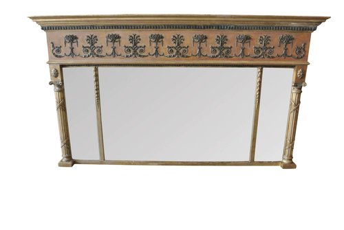 Antique Regency Overmantel Mirror