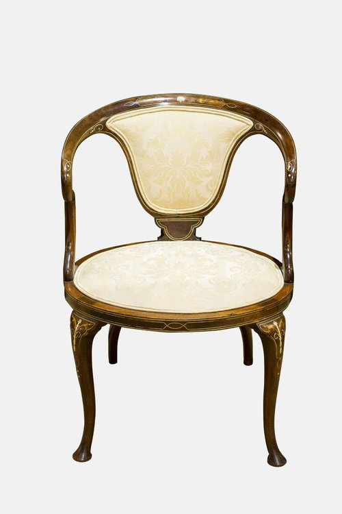 Edwardian Mahogany Bedroom Chair Antiques Atlas