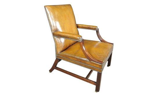 George III Gainsborough Chair