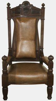 Impressive 19th Century Throne