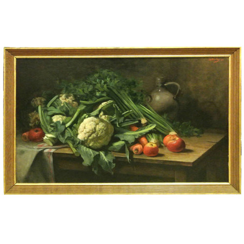 19th c Large Still Life