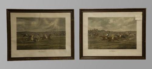Pair of Engravings Of Horse Racing